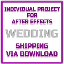 After Effects Project - Wedding Pop Up Album -  Shipping Via Download