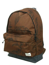 QUIKSILVER EVERYDAY EDITION BACKPACK  BROWN  LEAF PRINT