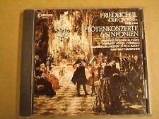 CD CAPRICCIO / FRIEDRICH II. DER GROSSE - FLÖTENKONZERTE UND SINFONIEN