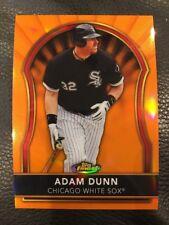 2011 Topps Finest - ADAM DUNN #31 Orange Refractor /99