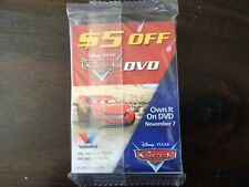 Disney PIXAR Cars 2006 Trading Cards Valvoline Oil Promo Factory Sealed