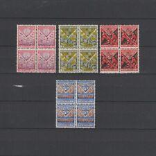 Nederland 1927 NVPH 208-211 blok van 4 postfris