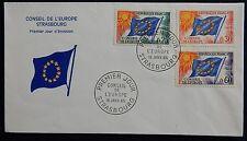 84H* Enveloppe 1er jour Fdc Service/Conseil de l'Europe 1965