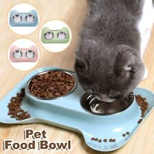 Dog Bowl Stainless Steel Dog Bowl with No Spill Non-Skid Feeder Bowls Pet Bowls