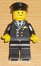 Lego City 1 Pilot mit Mütze, alte Version