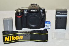 Nikon D90 12.3 MP Digital SLR Camera (Black ) Body Only+ Accessories_Excellent!!