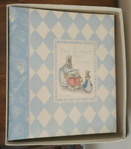 1998 Beatrix Potter Collection Baby Book A Tale of Baby's Days with Peter Rabbit