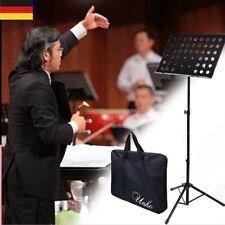 Stabiler Notenständer Orchesterpult Notenpult mit Lochblech Verstellbar 80-150cm