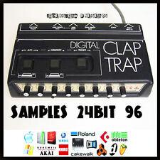 Simmons digital drum clap trap analog vintage 24 bit 96 24Bit retro beats sample