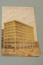 1910 Era Pence Automobile Company Building Minneapolis Minnesota Postcard