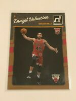 2016-17 Donruss Basketball Rookie Card - Denzel Valentine RC - Chicago Bulls