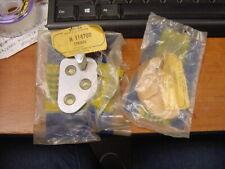 2 NOS Door Striker Plates RH LH  Hillman Husky Commer Cob + Van Rootes Group