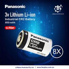 Genuine 8x Panasonic  3V CR2 Lithium Battery CR15H270 CR15270 15270 15266 DLCR2