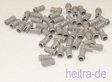LEGO Technik - 50 x Pin, Pins 1/2 hellgrau ( eine kurze Seite ) / 4274  NEUWARE