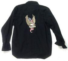 Genuine Harley Davidson Shirt Eagle Patch Size L  #HD