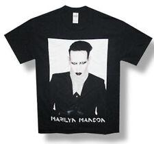 Marilyn-Manson-2015-End-Times-Tour-3X Black-T-shirt