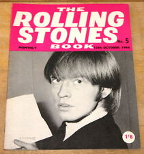 THE ROLLING STONES BOOK MONTHLY NUMBER 5 10TH OCTOBER 1964 VINTAGE MAGAZINE