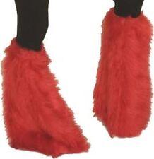 PATTE d'Eph Fourrure Rouge DISCO Déguisement Homme Femme Pantalon Costume 1980