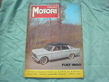 TORINO MOTORI #1 1959 JOLLY 600 MULTIPLA JUNIOR 1100 CONRERO SCOOTER ISO 150