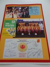 PARTICK THISTLE FC 1971 SCOTTISH LEAGUE CUP FINAL ALEX RAE JIMMY BONE McQUADE