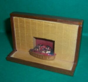 VINTAGE DOLLS HOUSE BARTON FIREPLACE 16th LUNDBY SCALE