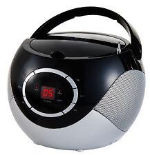 NEU CD-RADIO TRAGBARER CD PLAYER MINI BOOMBOX STEREOANLAGE TRAGABERES CD RADIO