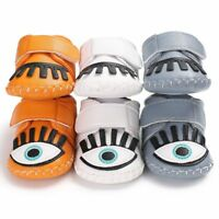 New PU Leather Baby Shoes Moccasins Single Eyes Newborn Infant first walkers