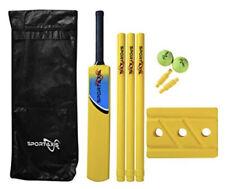 Sportaxis Premium Backyard Cricket Set- Beach Cricket- Bat, Balls, Stumps, Ba.