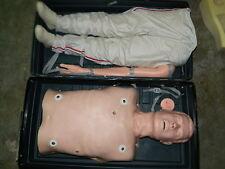 LAERDAL ALS SKILLMASTER TRAINING MANIKIN NURSING EMT CPR INTUBATION SIMULATOR