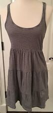 Women's H&M Stripped Sleeveless Ruffle Dress Size XS