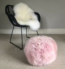 Pouffe , Sheepskin Pouffe , Interior Decor , Footstool Pouffe , Sheepskin Decor