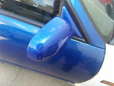 Nissan R33 Series 2 Skyline Drivers side outside mirror complete in blue