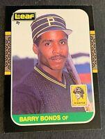 1987 Leaf #219 Barry Bonds - Pirates