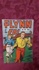 Flynn of the FBI, Australian Comic, no 65, circa 1970's, VG