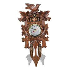 Vintage German Cuckoo Clock Wall Hanging Clock Alarm Home Excellent Gift
