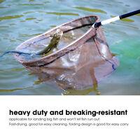 Durable Nylon Replacement Fishing Landing Net Rhombus Mesh Hand Net 35cm Outdoor