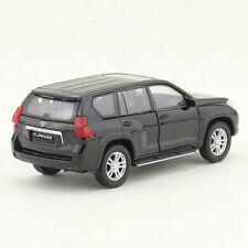 1:43 Toyota Land Cruiser Prado Off-road Model Car Diecast Toy Vehicle Gift Black