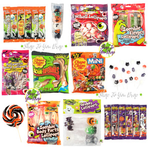 👻HALLOWEEN LOLLIES Chocolate Sweets Lolly Lollipops Party Trick or Treat Kids👻