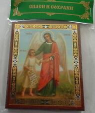 Russian wood icon  Guardian Angel #4 New