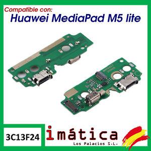 PLACA DE CARGA PARA HUAWEI MEDIAPAD M5 LITE CONECTOR USB 10.1 PUERTO VIBRADOR