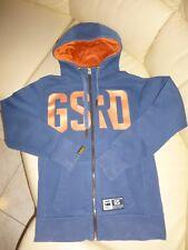 fd5bb82c028 Magnifique veste à capuche bleu orange