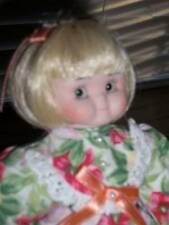 "Goebel ~ Vintage 1995 LE Gorgeous Dolly Dingle Side Glancing 9"" Doll"