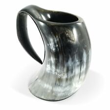 Viking Bar Mug Genuine Viking Drinking Horn Mug Tankard 26-30 Ounces