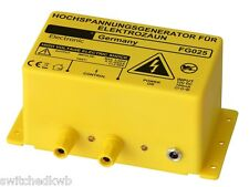 12V ELECTRIC FENCE ENERGISER - 2400V OUTPUT - KOI POND / HERON FENCE ENERGISER
