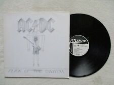 "LP AC/DC ""Flick of the switch"" Embossed Sleeve ATLANTIC 78-0100-1 GERMANY §"