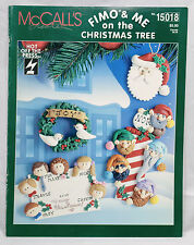 Fimo & Me On The Christmas Tree McCall's Hot Off The Press #15018 Leaflet