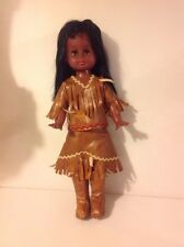 RARE VINTAGE REGAL DOLL INDIAN Native American Made In Canada