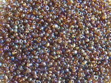 30g Metallic Tone Glass Seed Beads 1.8mm