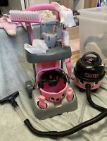 Casdon Deluxe Hetty Hoover & Cleaning Trolley Kids Toy - Complete Set