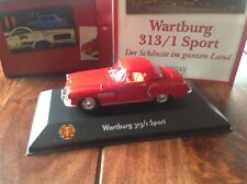 Wartburg 313/1 Sport Fahrzeuge DDR  Atlas Verlag neu OVP 1:43